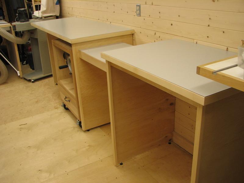 Une r alisation de tomy b dard table de - Plan pour fabriquer table forestiere ...