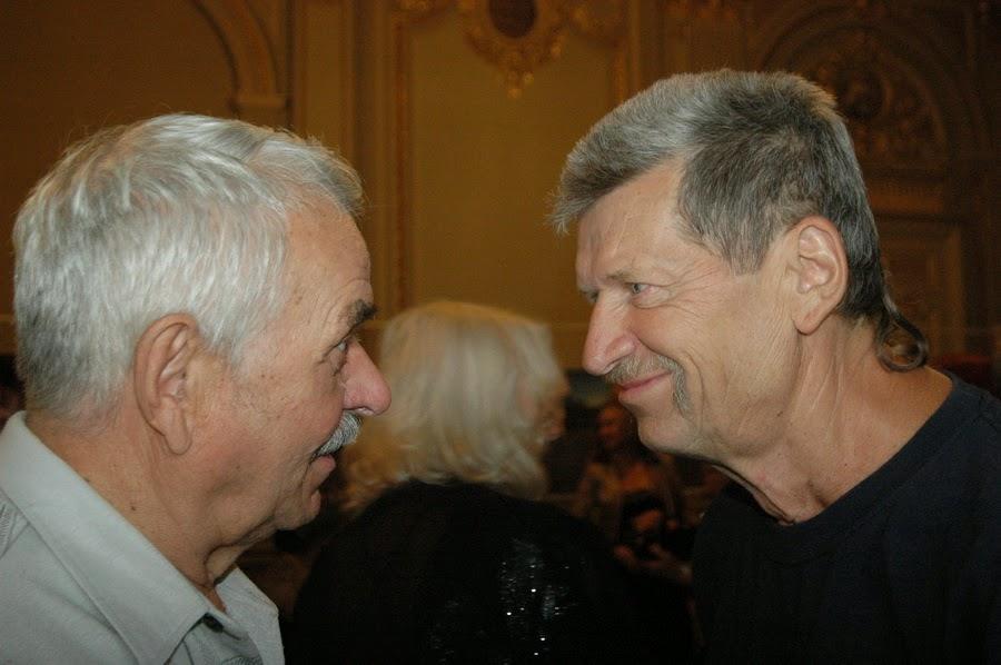 Грыць Гайовый (слева) и Василий Довжик