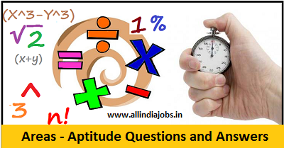 Areas Aptitude Questions and Answers