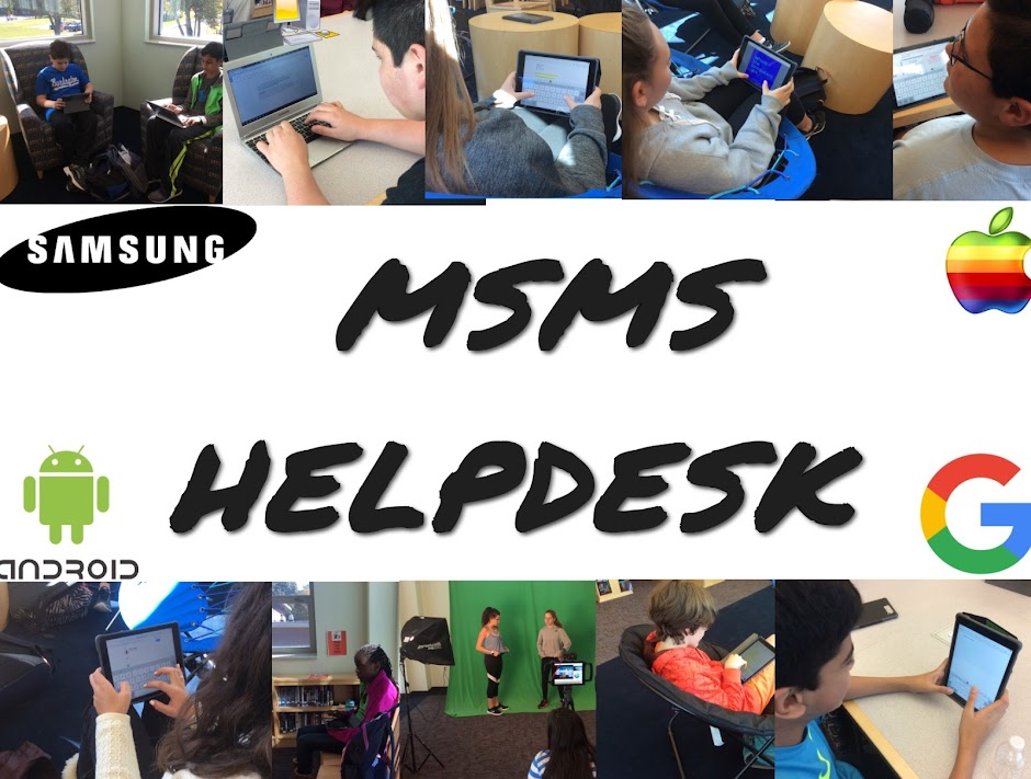 Marshall Simonds Middle School Help Desk