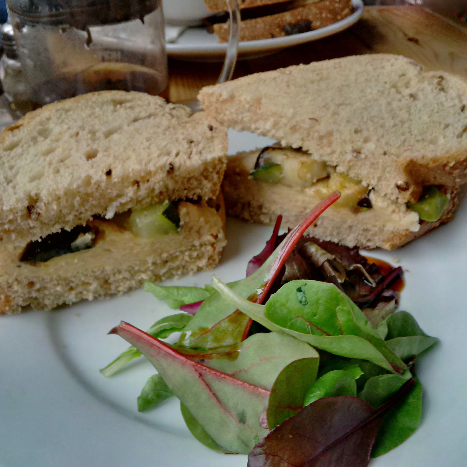 Vegan Olive : The Garden by Leaf Wood Street Liverpool 13th January 2016
