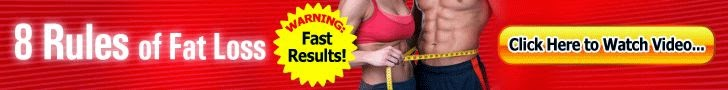 8 rules of fat loss banner