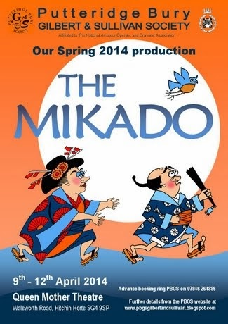APRIL 9-12 2014: THE MIKADO