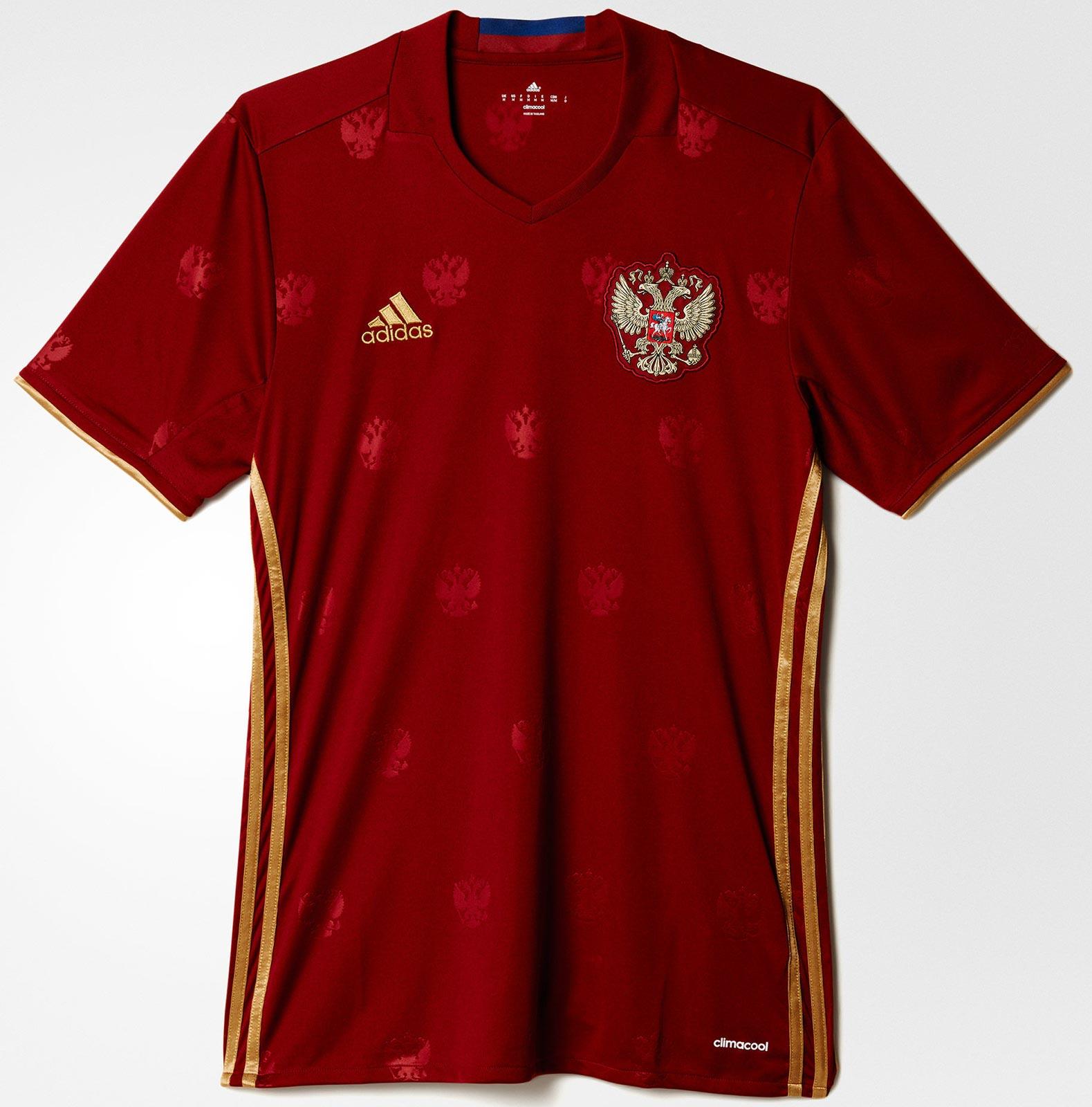 Adidas apresenta nova camisa titular da Rússia - Show de Camisas ead61f51780bb