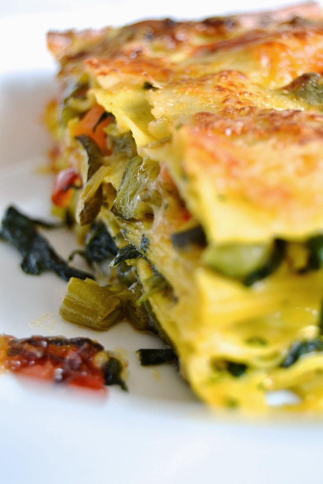 lasagne vegetariane light