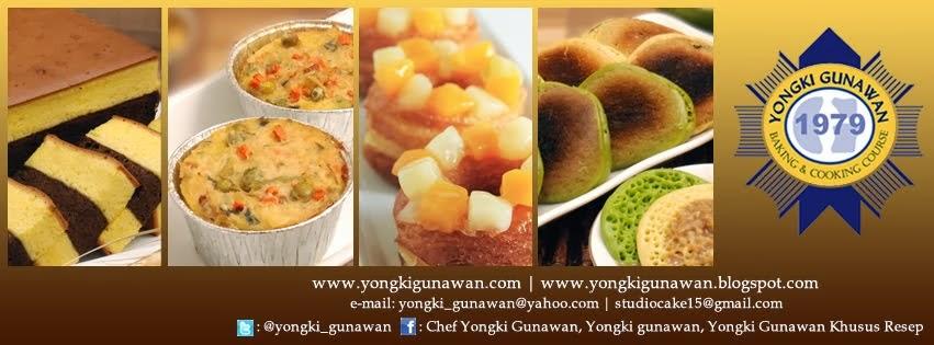 Yongki Gunawan.com - Kursus Memasak & membuat Kue