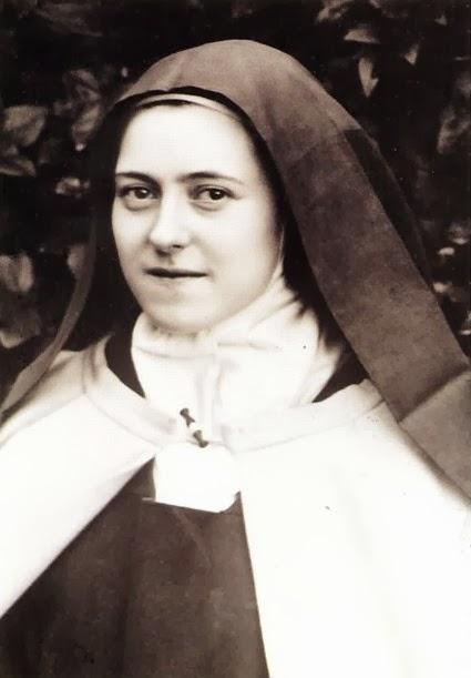Merci, Sainte-Thérèse.