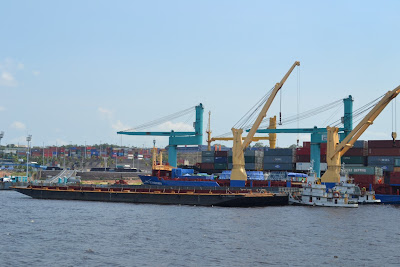 historia de manaus - porto da zona franca