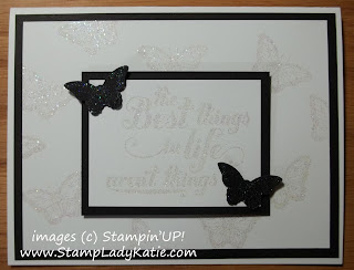 Wedding card made with Stampin'UP! Stamp set: Feel Goods