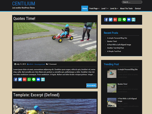 Download Tema WordPress Centilium