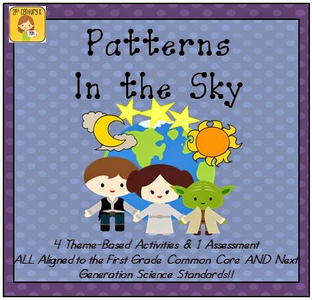 https://www.teacherspayteachers.com/Product/First-Grade-Theme-Patterns-in-the-Sky-1505856