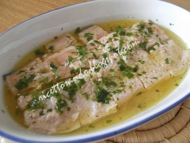 Ricettosando - ricette di cucina : Trota salmonata marinata al limone