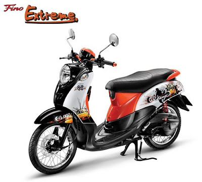 2012 Yamaha Fino Retro indonesia