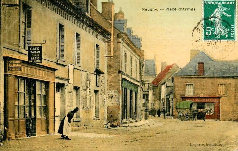 Cartes postales ville,villagescpa par odre alphabétique. - Page 11 Reugny+(8)