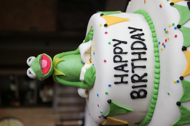 Pics Of Kermit The Frog Birthday Cakes