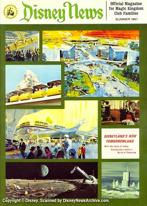 Disneyland's New Tomorrowland, Disney News, Summer 1967