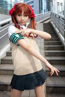 Kanda Midori cosplay as Shirai Kuroko