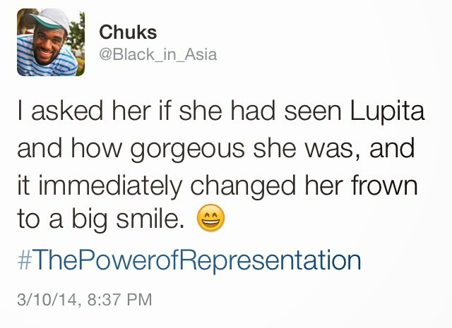 Tweet by @Black_in_Asia