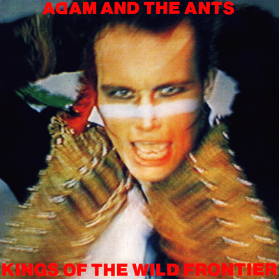 Adam and the Ants second album Kings of the Wild Frontier, 1980.