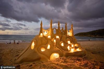 Images comiques et extraordinaires Art - Sculpture sable v7