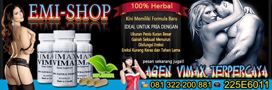 Obat Pembesar Penis Vimax Herbal Pill, Obat Kuat Surabaya