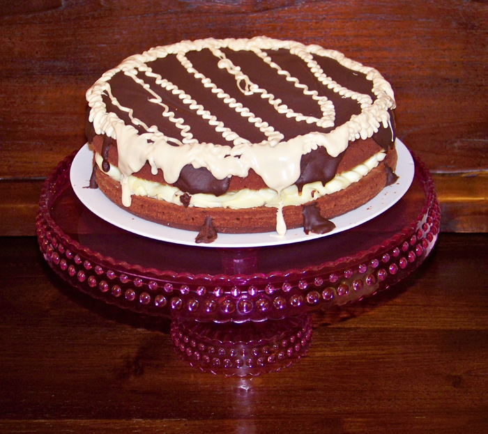 chocolate, tarta, cumpleaños cake dulce receta