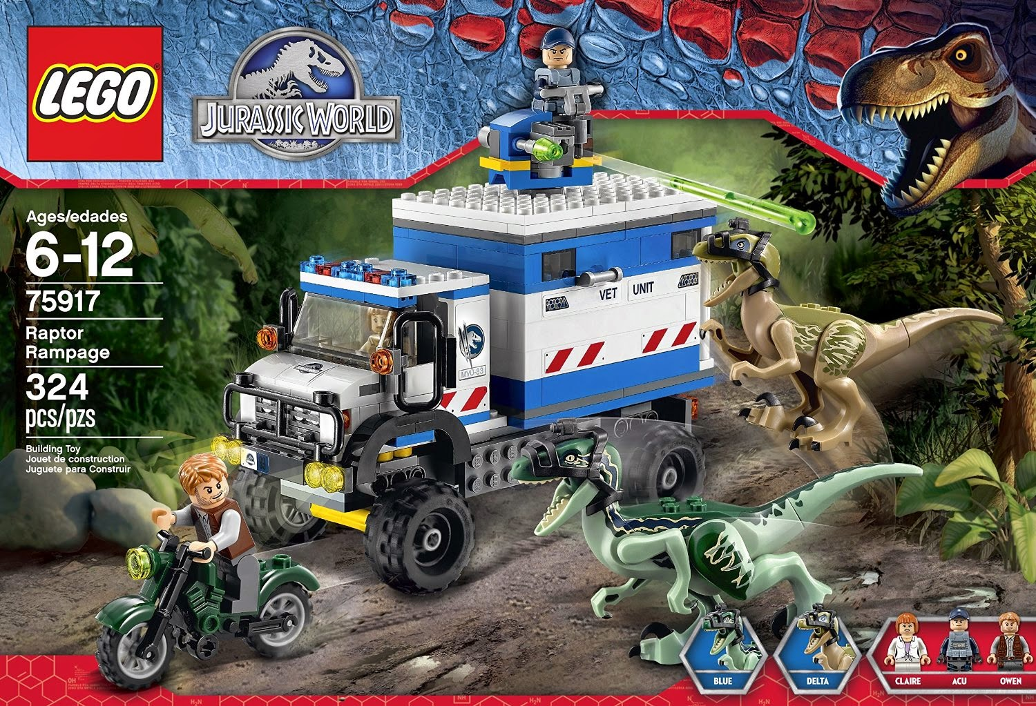 The minifigure collector lego jurassic park and dino sets - Jurasic park lego ...