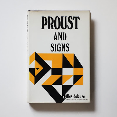 Giles Deleuze, Proust and Signs, 1st edition