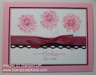 Card made with Stampin'UP! stamp set: GreenHouse Garden. Made by StampLadyKatie
