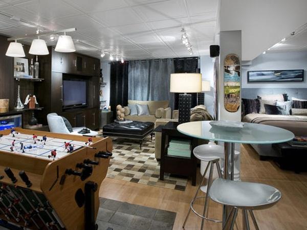 Basement Into an Living Room