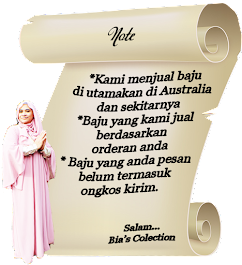 Note from Bia's Collection