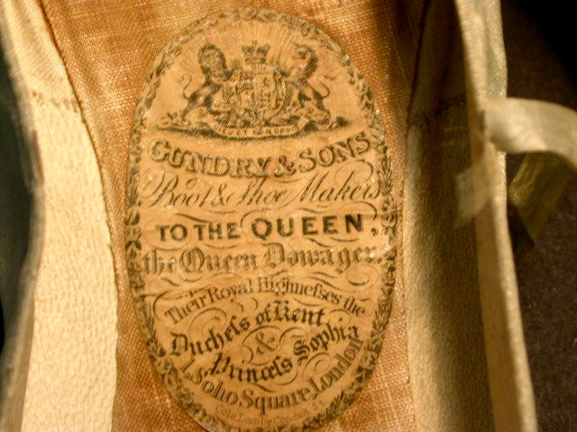 Silkdamask What S In A Label 3 Queen Victoria S 1840