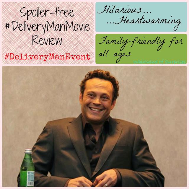 Spoiler free Delivery Man movie review, #DeliveryManMovie, #DeliveryManEvent