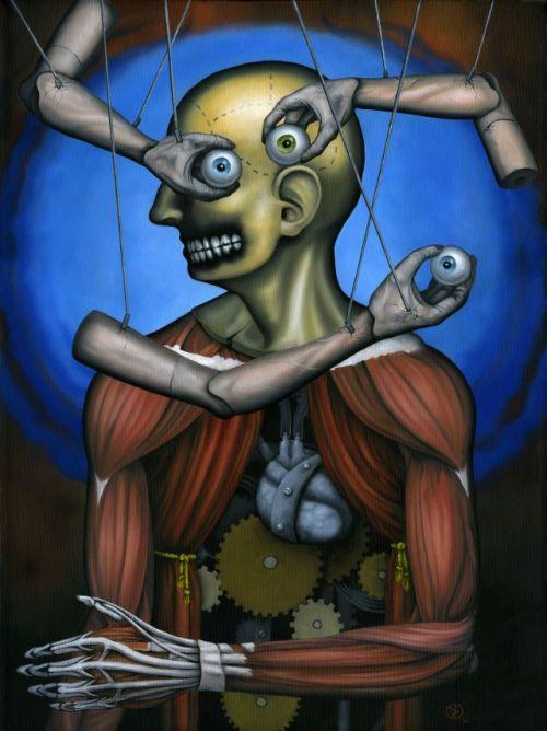 Jeff Christensen js4853 deviantart pinturas surreais sombrias Artífice