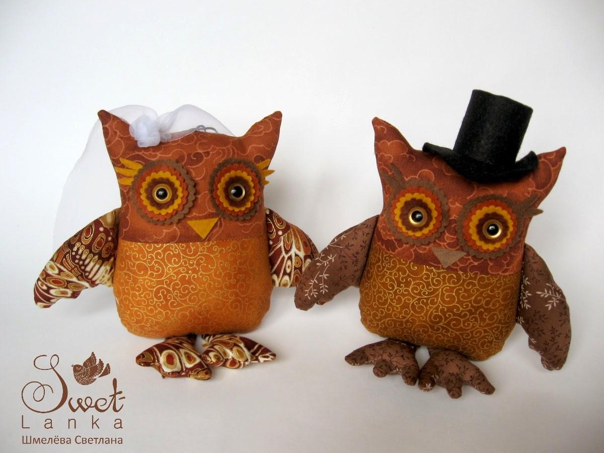свадебные совы