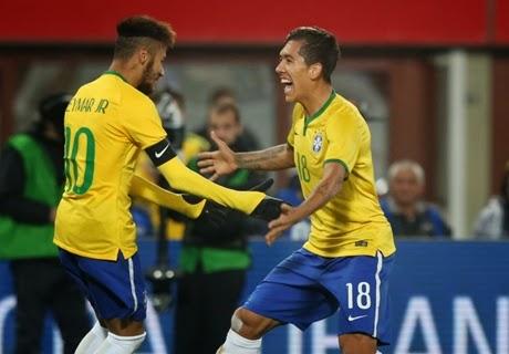 Laga Ujicoba : Austria vs Brasil 1-2