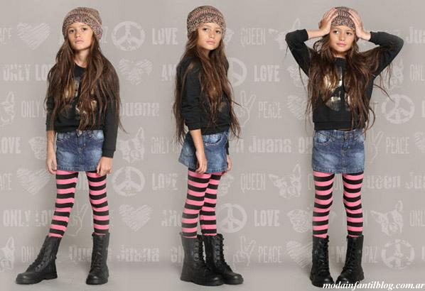 invierno 2013 moda para niñas queen juana