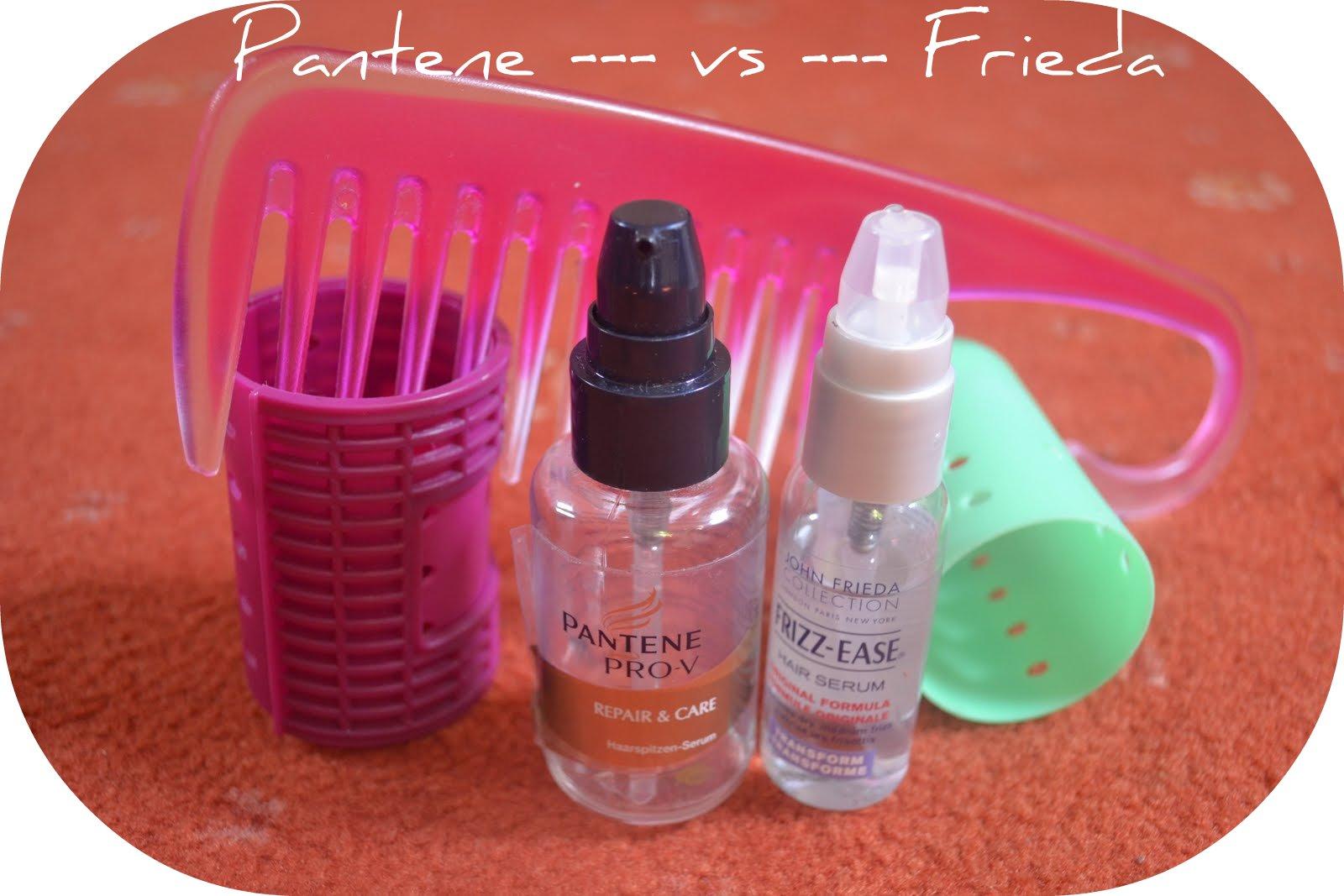 LoveYourTresses: Hair serum tug of war : Pantene vs Frieda