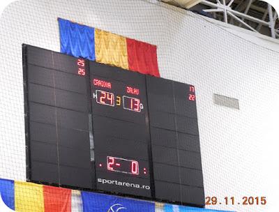 SCM Craiova 3 - VCM Zalau 0