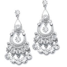 pretty wedding earring