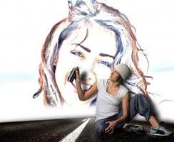 Criar um desenho estilo grafite em sua foto