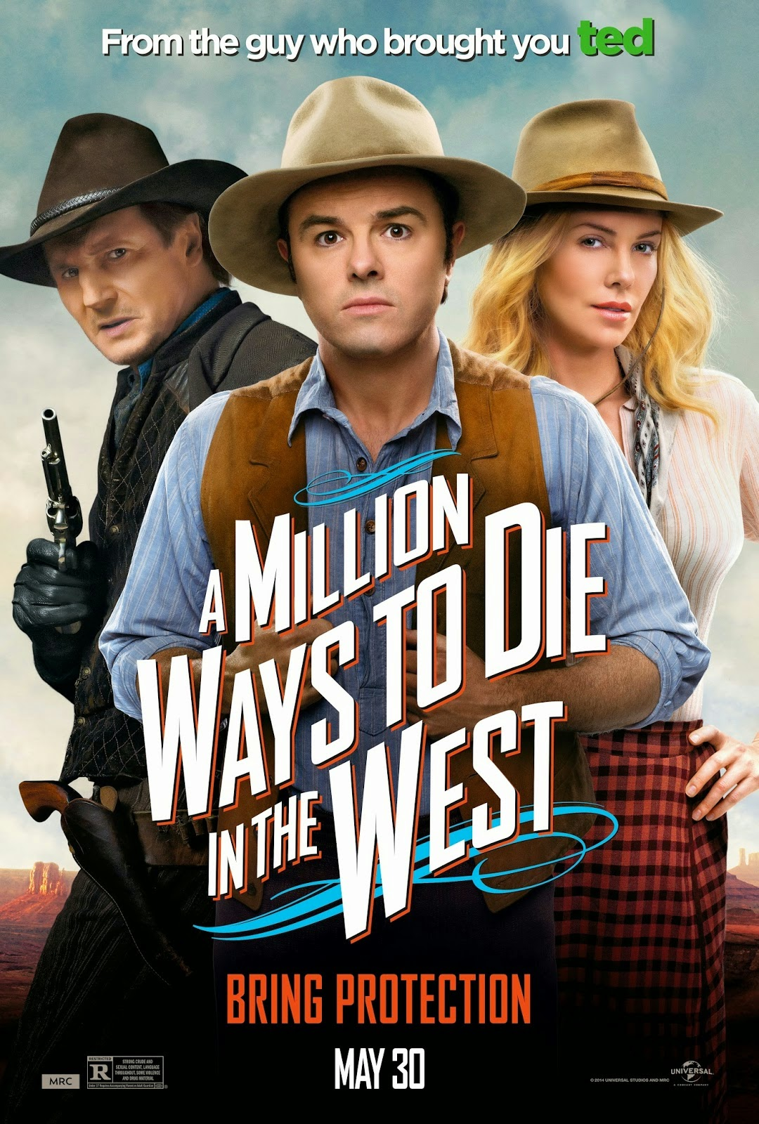 Review A Million Ways To Die In The West