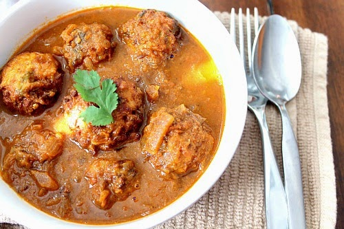 Bread koftas in pumpkin curry ~ The Best Delicate Recipes