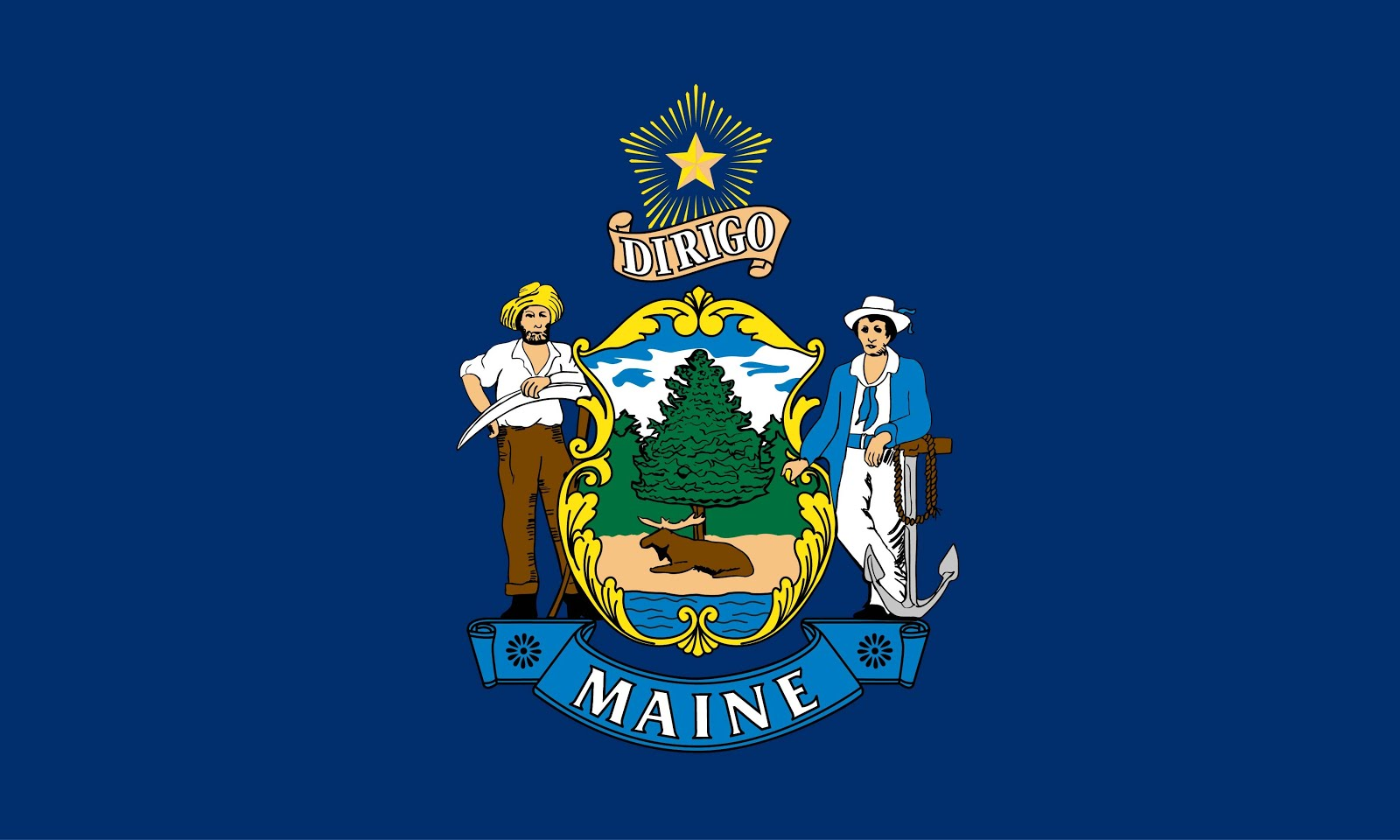 The Maine Flag