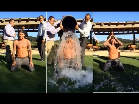 David Beckham  Ice Bucket Challenge
