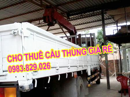 thuê xe cẩu hàng ở Hà Nội
