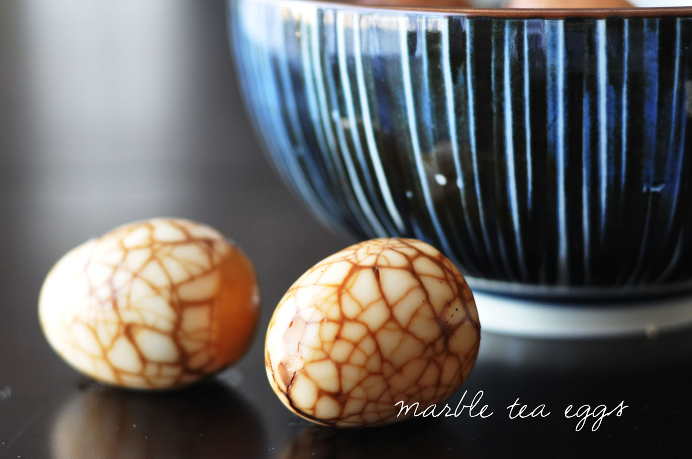 camo meets couture: Chinese Marble Tea Eggs