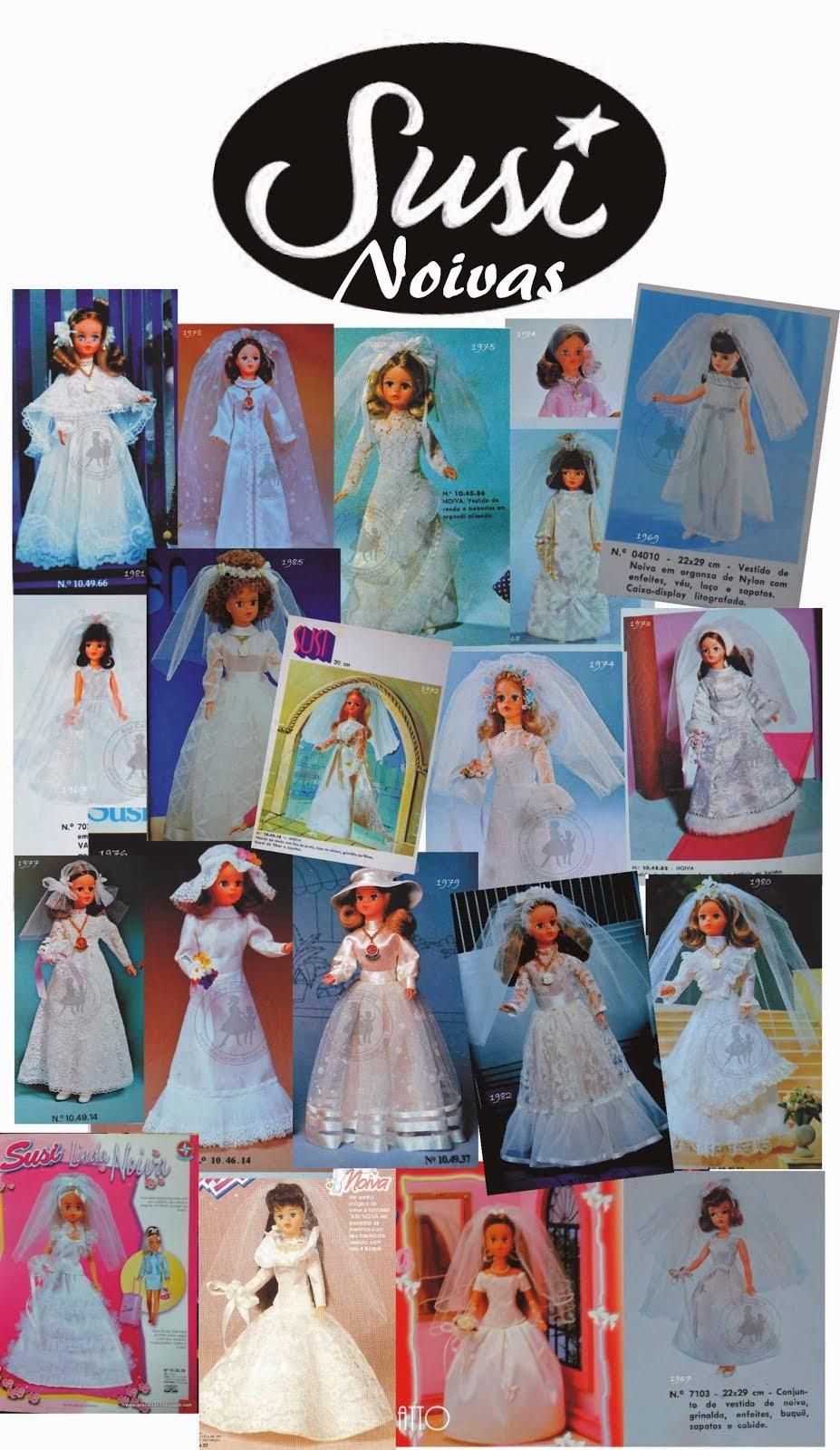 Bonecas Susi Noivas