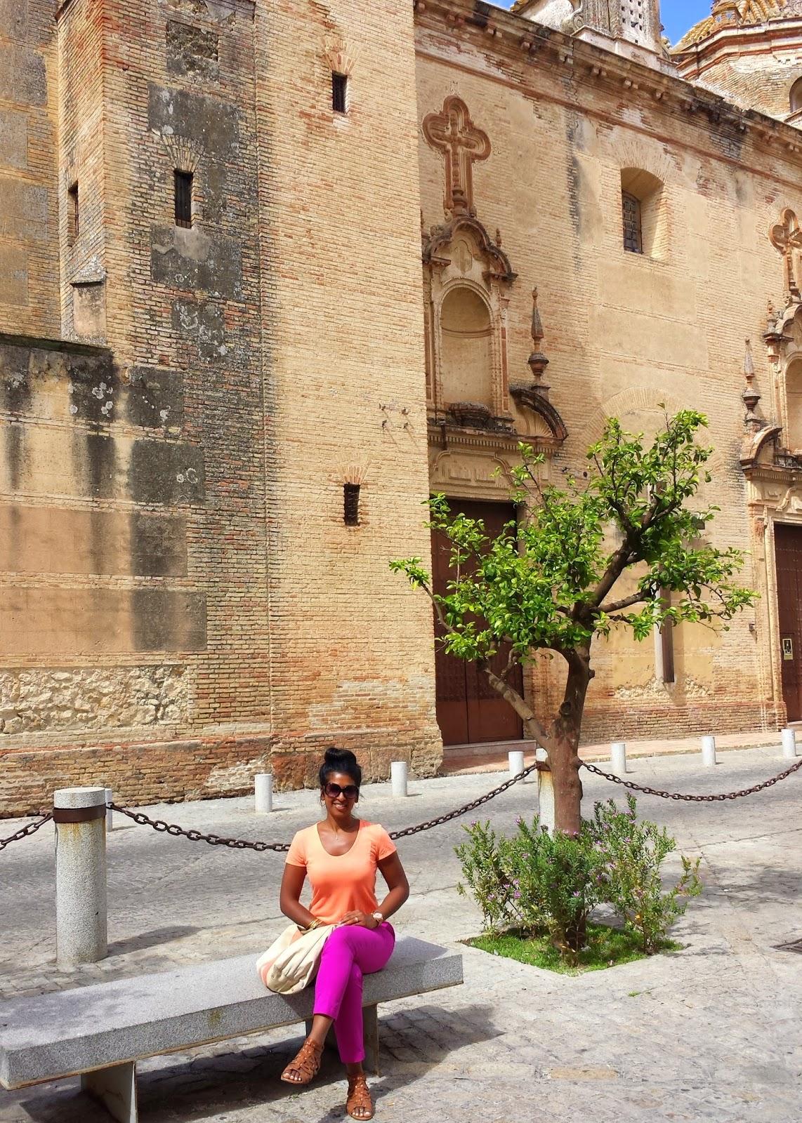 Cathedral of Carmona  |  Postcard from Andalucía: Jerez + Carmona  on afeathery*nest  |  http://afeatherynest.com