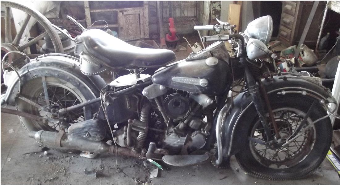 Vintage Bike Addiction Barn Find Knuckleheads